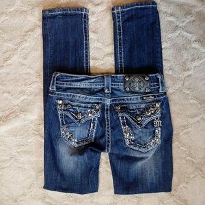 Miss Me 25 Signature Rise Straight Leg Jeans